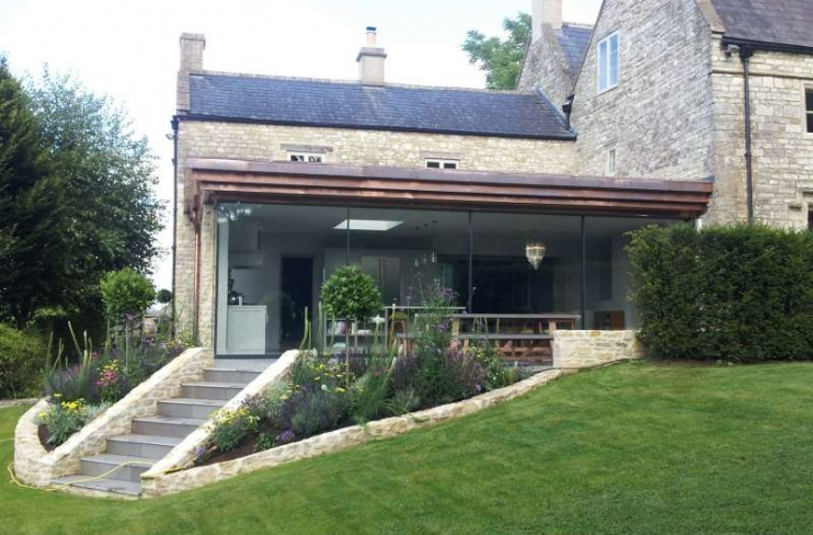 OLD RECTORY – CONTEMPORARY EXTENSION